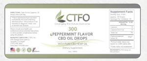 ctfo cbd oil label