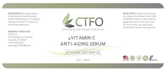 ctfo pure hemp vitamin c serum