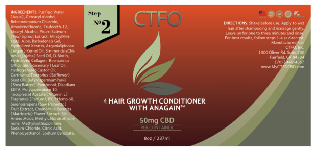 ctfo cbd hair growth conditioner step 2