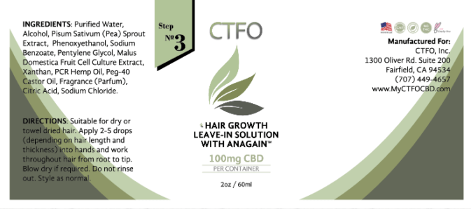 ctfo cbd hair growth leave in solution step 3