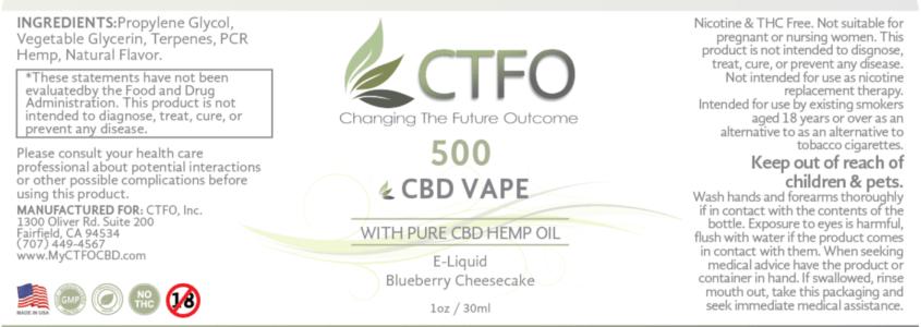 ctfo cbd vape oil