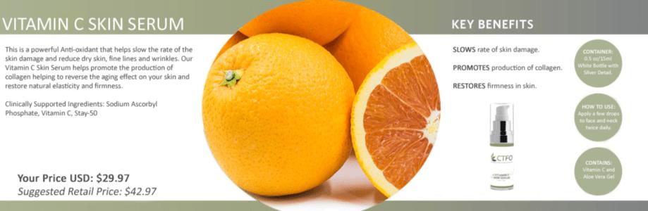 ctfo vitamin c skin serum