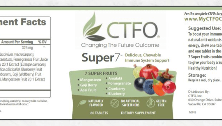 ctfo super 7 label