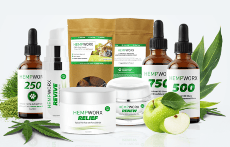 Hempworx Hemp Oil For Dogs selection of products