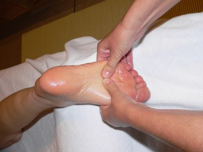 pressure points reflexology on the foot